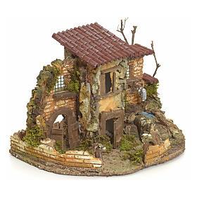Borgo rustico con fontanella elettrica s2