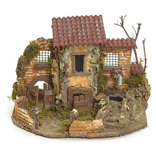 Borgo rustico con fontanella elettrica 1