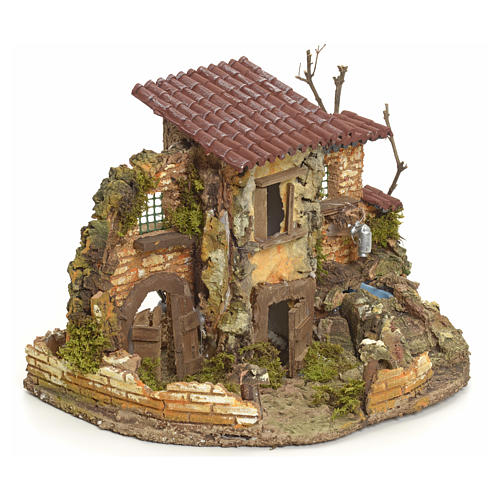 Borgo rustico con fontanella elettrica 2