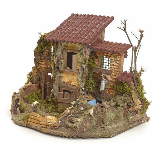 Borgo rustico con fontanella elettrica 3