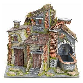 Borgo antico con fontana elettrica s1