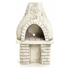 Nativity setting, oven in plaster s1