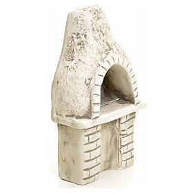 Nativity setting, oven in plaster s2