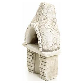 Nativity setting, oven in plaster s3