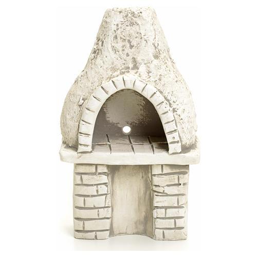 Nativity setting, oven in plaster 1