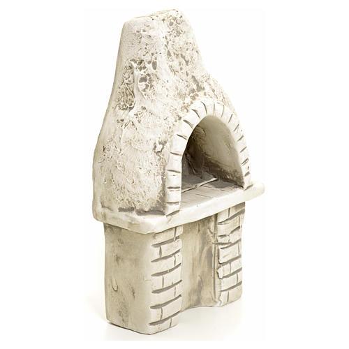 Nativity setting, oven in plaster 2