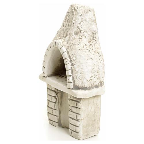 Nativity setting, oven in plaster 3