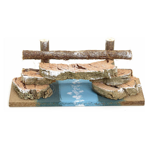 Nativity setting, cork bridge 1