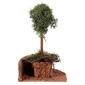 Árvore líquen para presépio h 20 cm s4