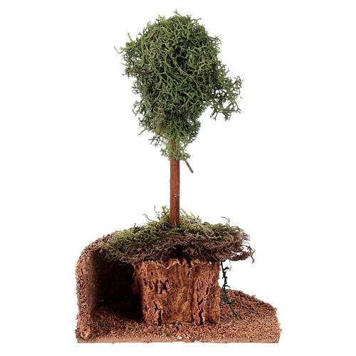 Árvore líquen para presépio h 20 cm 4