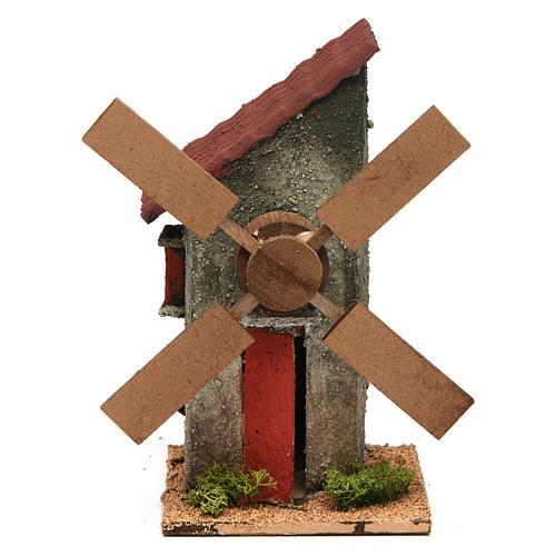 Mini moulin à vent électrique 18x10x10 cm 1