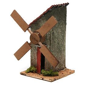 Nativity wind mill 18x10x10cm s2