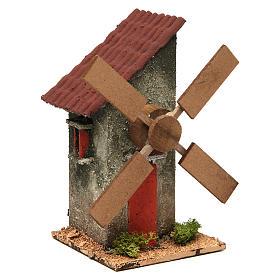 Nativity wind mill 18x10x10cm s3
