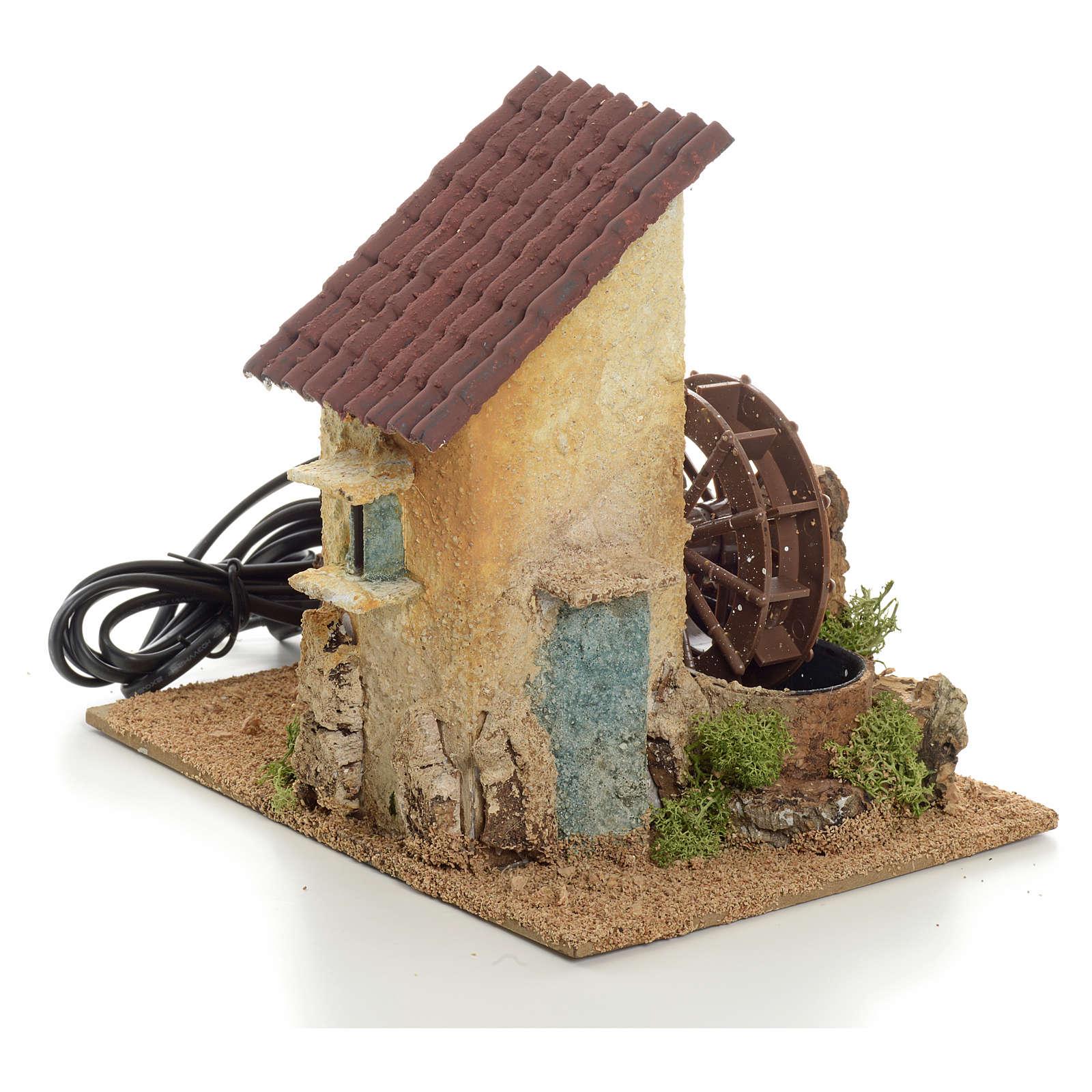 Mini moulin à eau électrique 20x15x20 cm 4