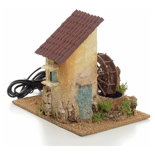 Mini moulin à eau électrique 20x15x20 cm 1