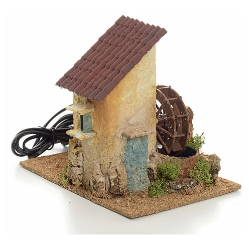 Nativity water mill 20x15x20 1
