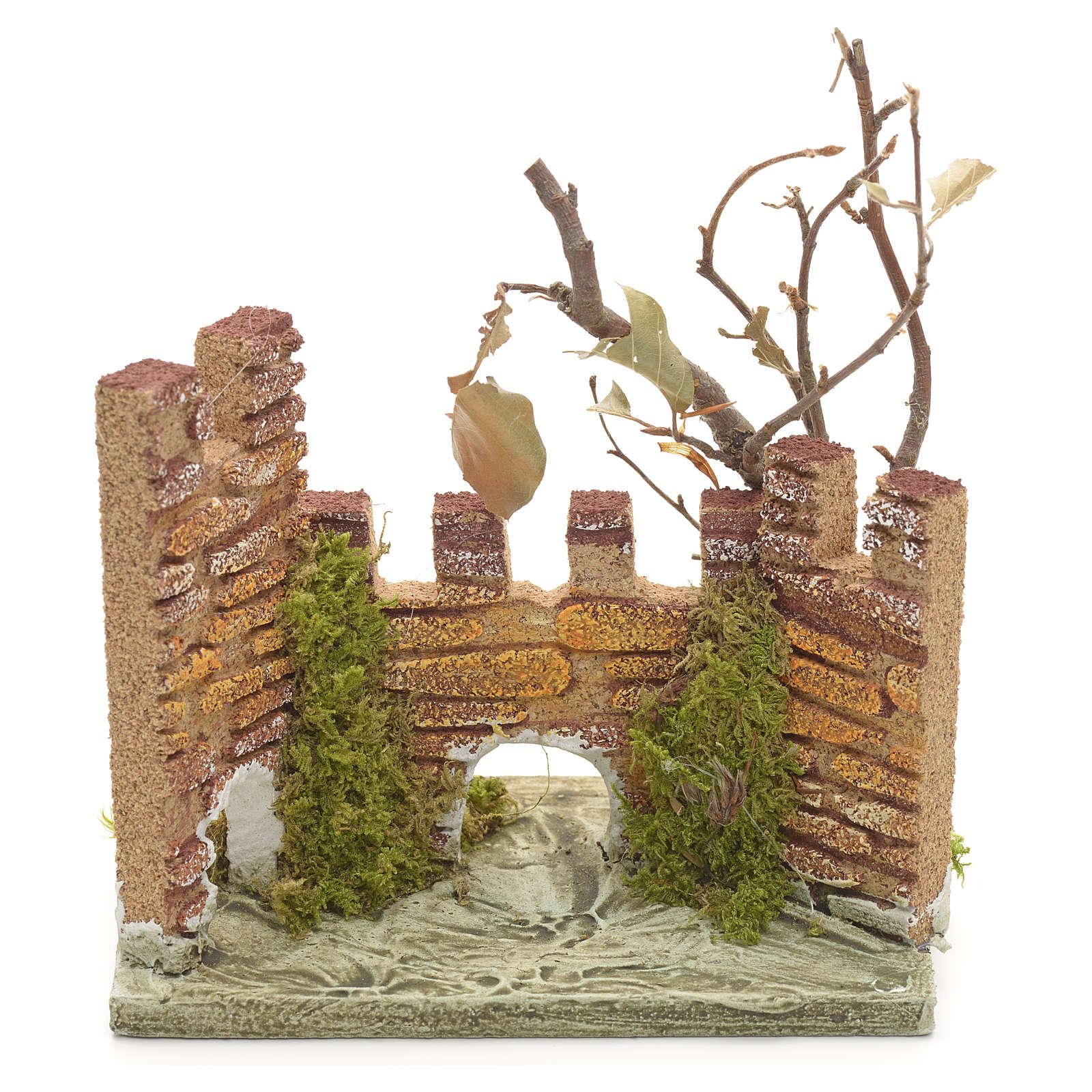 Castello medioevale per presepe 4