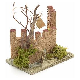 Castello medioevale per presepe s2