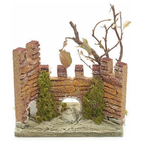 Castello medioevale per presepe 1