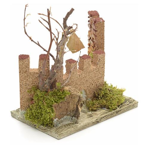 Castello medioevale per presepe 2