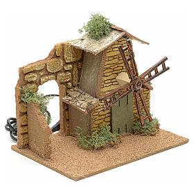 Mulino a vento in legno con movimento s2