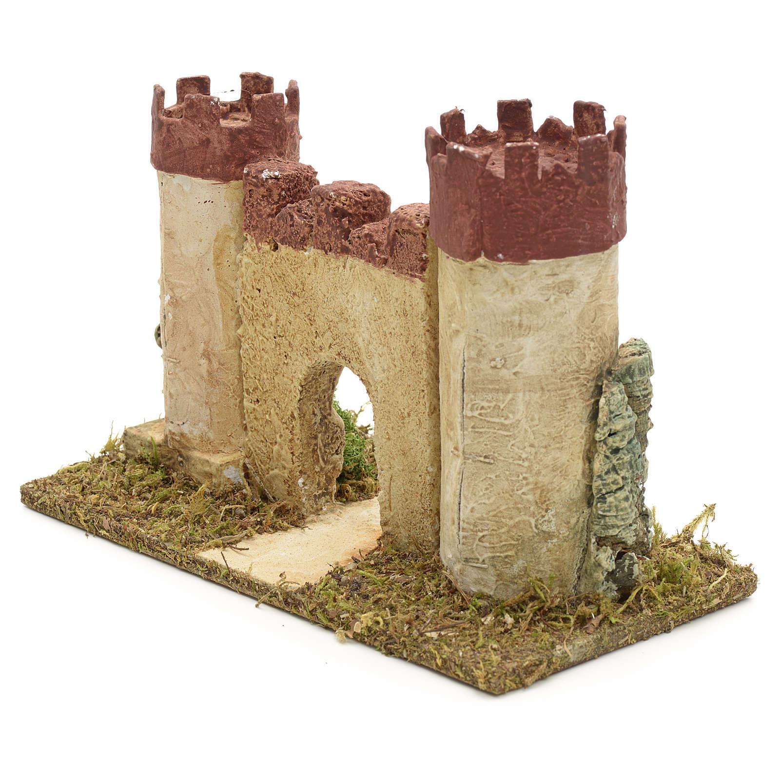 Castillo de Herodes para pesebre 4