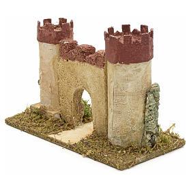 Castillo de Herodes para pesebre s3