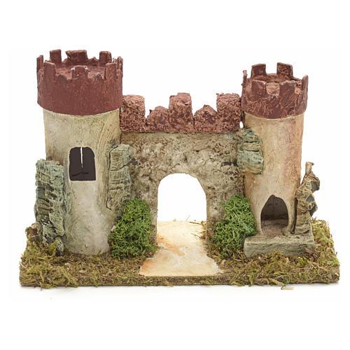 Castillo de Herodes para pesebre 1