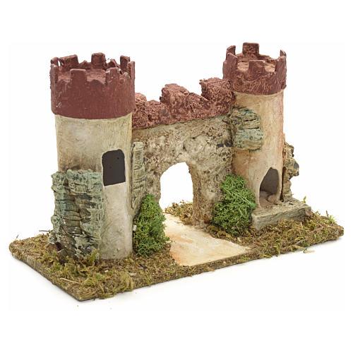 Castillo de Herodes para pesebre 2