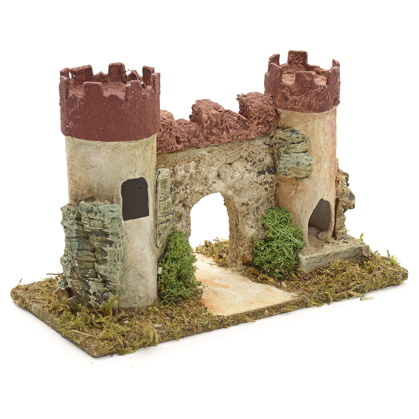 Castello di Erode per presepe 4