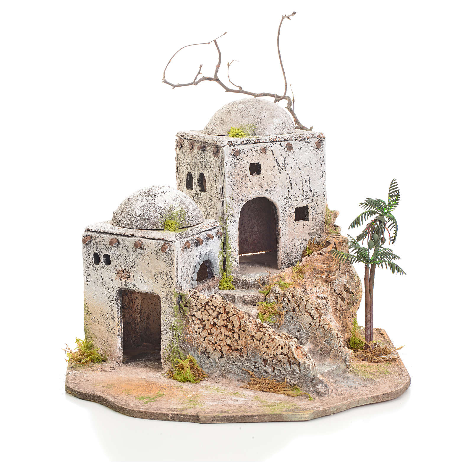 Arabian house in resin and cork 4