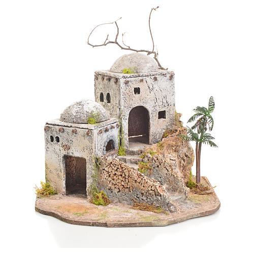Arabian house in resin and cork 1