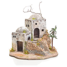 Arabian house in resin and cork s1