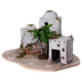 Borgo arabo in resina e sughero presepe s2