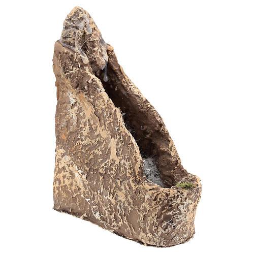 Cascada pesebre en resina 22x10x20 cm 3