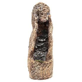Cascade en résine pour crèche 22x10x20 cm s1