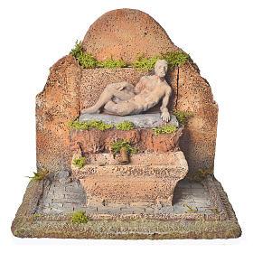 Fontana resina presepe 13x21x14 cm s1