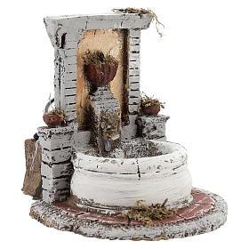 Fountain in resin 15x15x18cm s3
