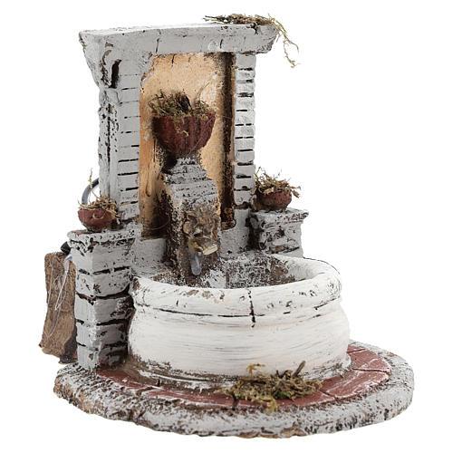 Fountain in resin 15x15x18cm 3