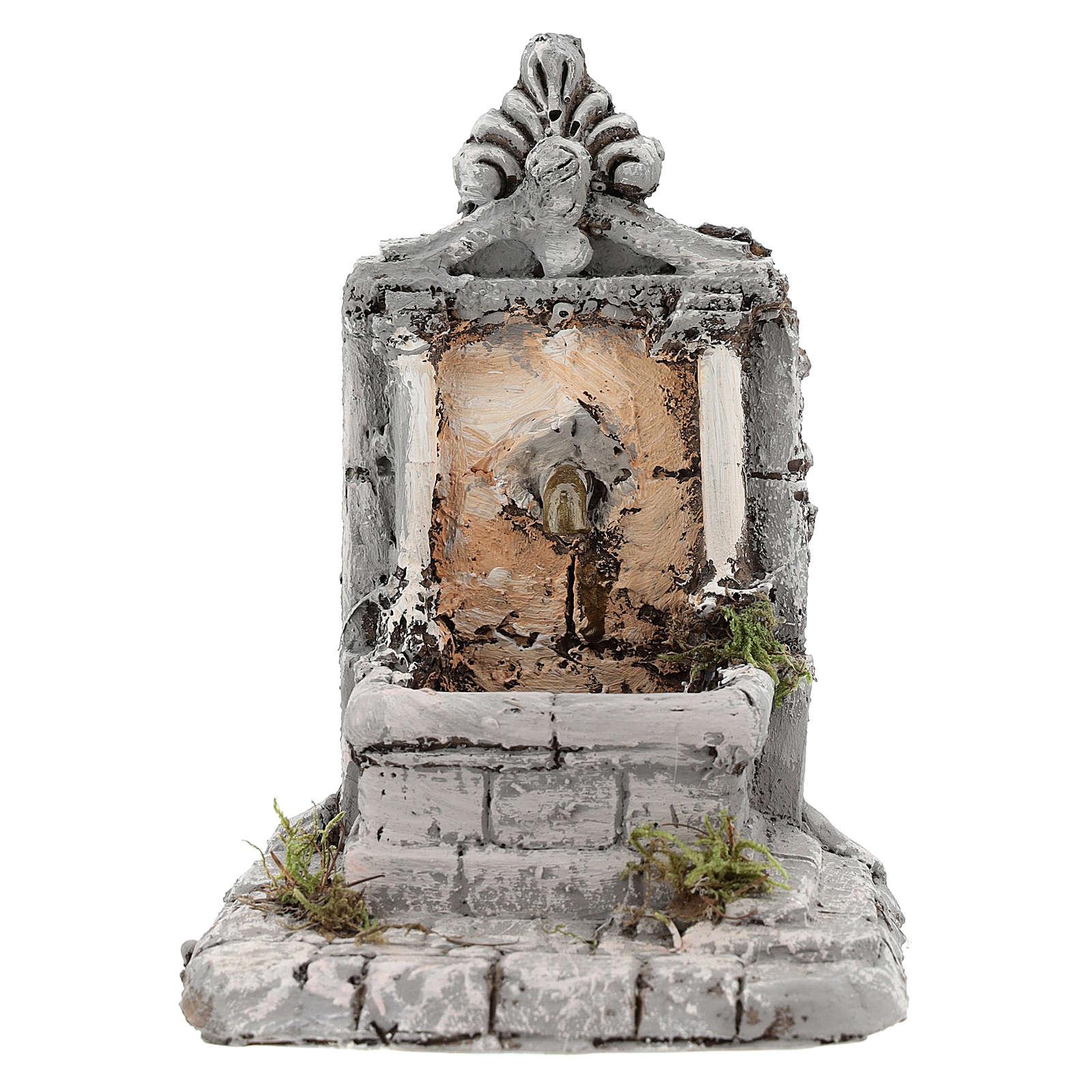 Fountain in resin 17x13x16cm 4