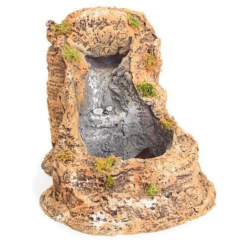 Ruscello resina per presepe 15x18x21 cm 1