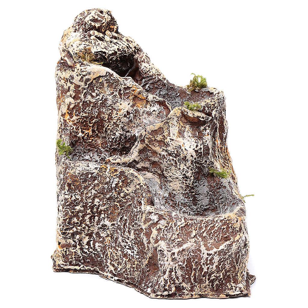 Riochuelo resina 23x18x28 cm para pesebre 4