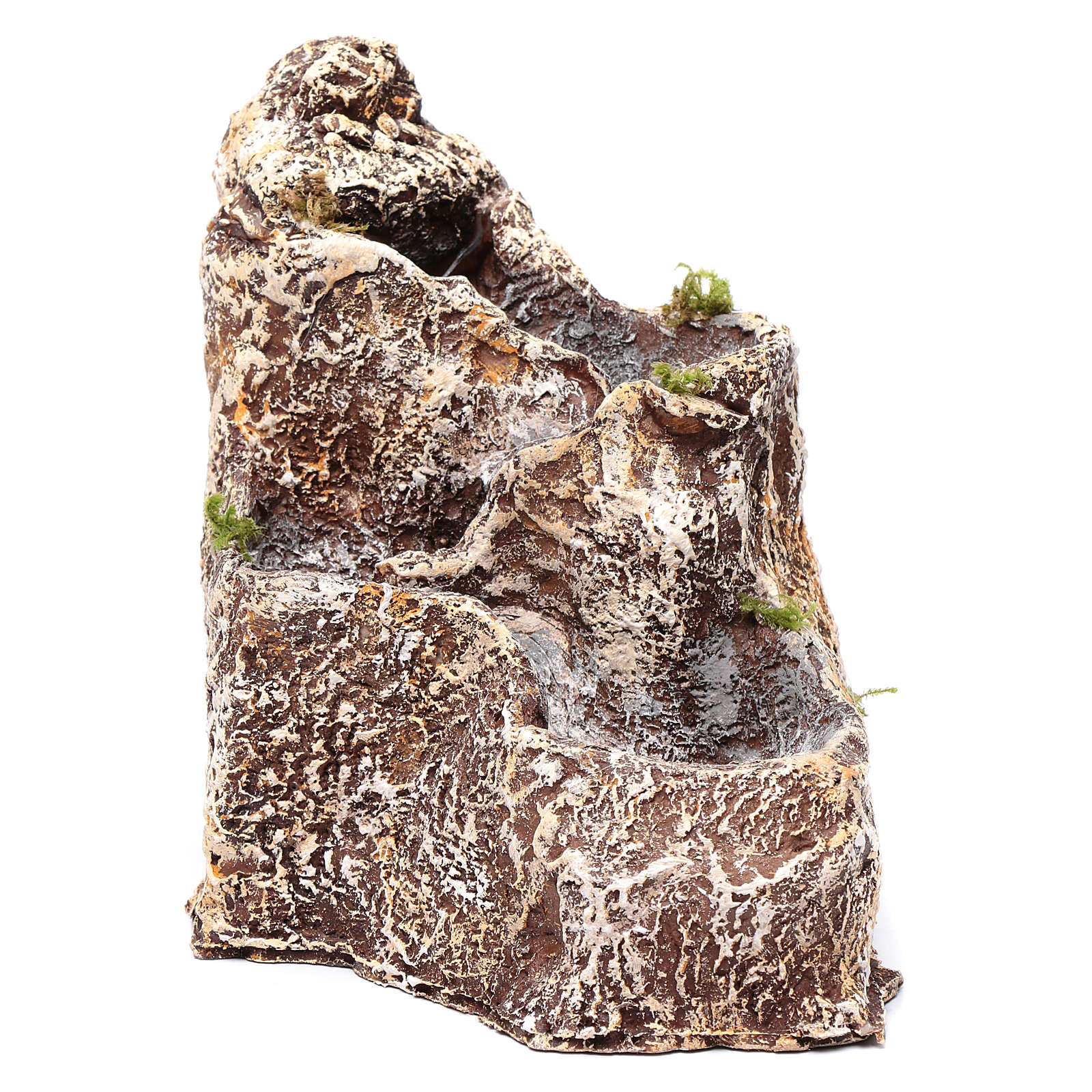 Cascades pour crèche en résine 23x18x28 cm 4
