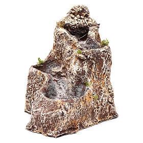 Cascades pour crèche en résine 23x18x28 cm s1