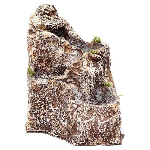 Ruscello resina per presepe 23x18x28 cm 2