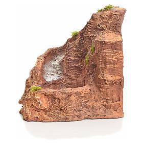 Ruscello resina presepe 22x24x28 cm s2