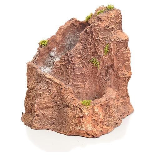 Ruscello resina presepe 22x24x28 cm 1