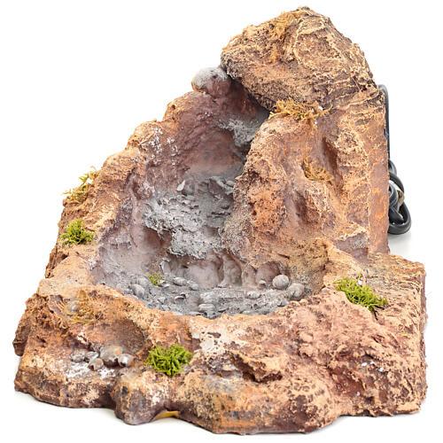 Ruscellino in resina presepe 13x21x30 cm 1