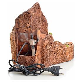 Ruscello presepe in resina con scaletta 27x28x23 s3