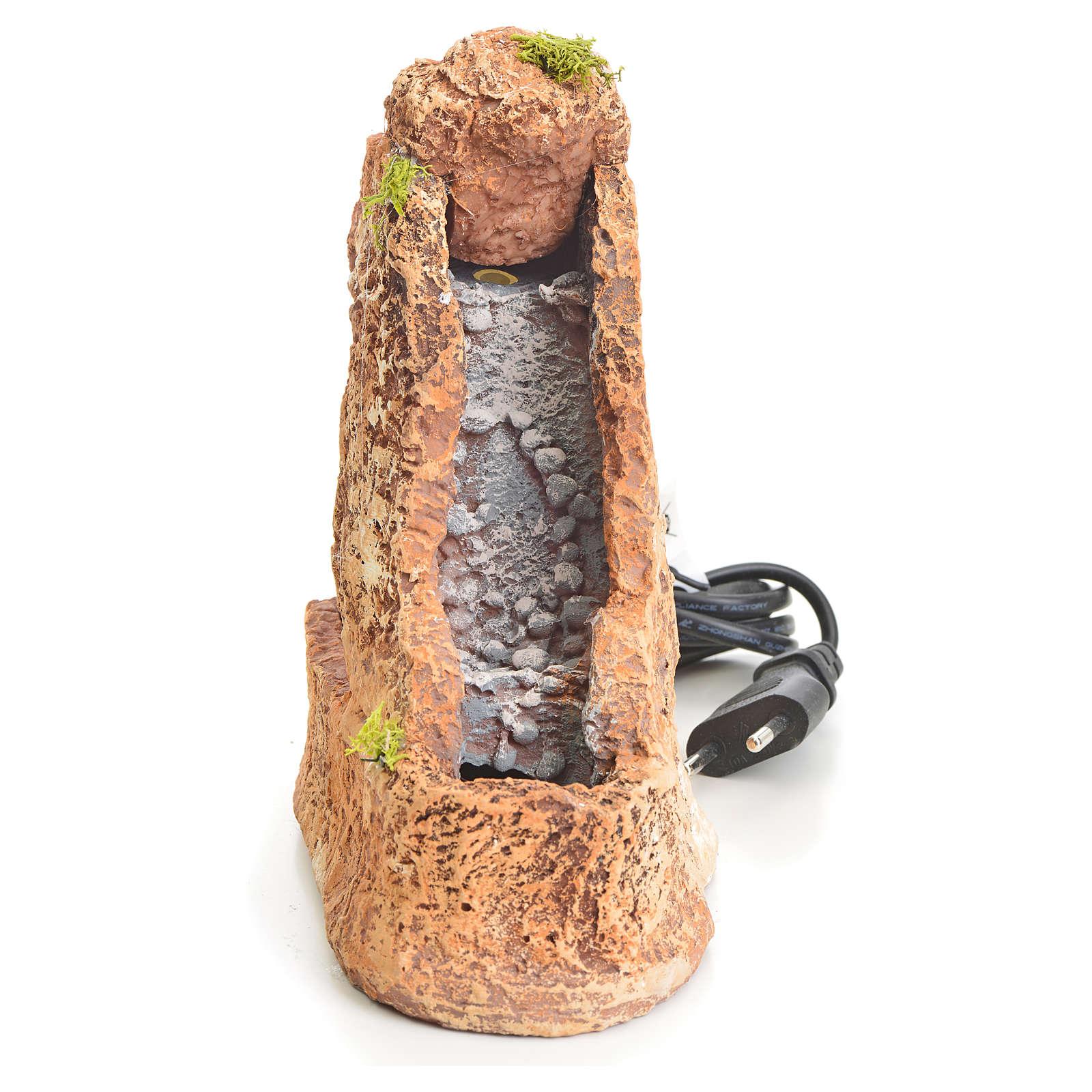 Riochuelo en resina pesebre 20x8x18cm 4